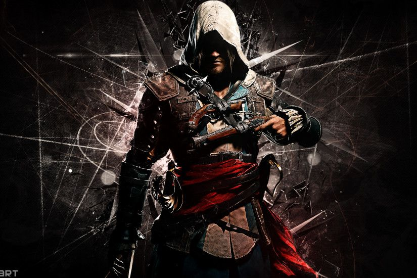 Assassin's Creed 4 Black Flag Wallpaper by DanteArtWallpapers ...