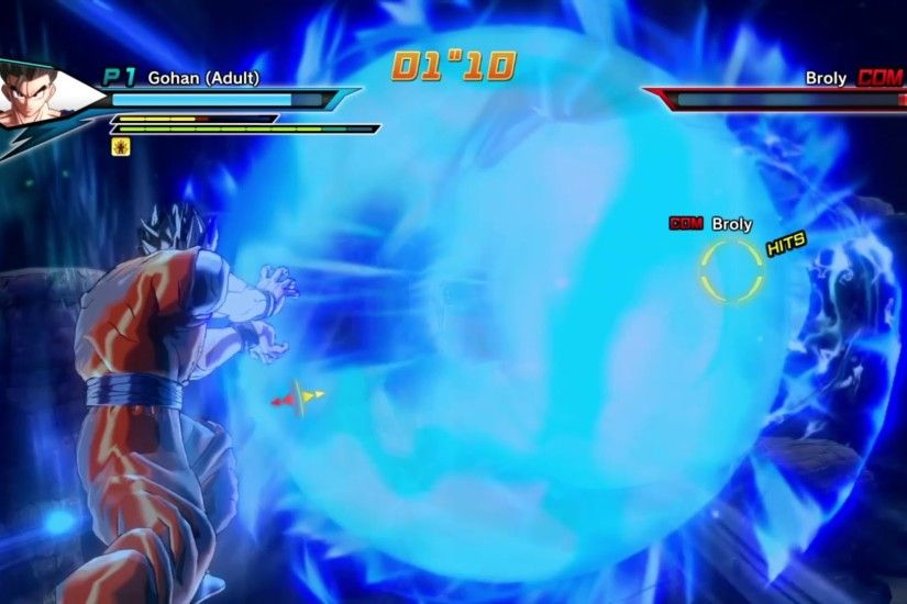 Dragon Ball Xenoverse Ultimate Gohan VS. Broly {PS4 Gameplay} - YouTube