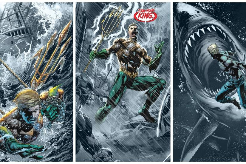 Aquaman Background HD.