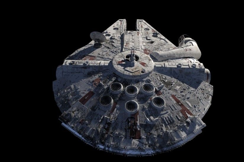 Millenium Falcon Back 3D by Teonardo Millenium Falcon Back 3D by Teonardo