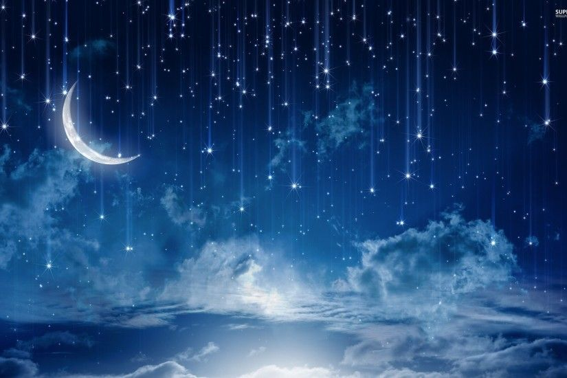Feed Pictures - The Beautiful Night Sky Hd Widescreen Wallpaper Landscape  Wallpaper Pictures