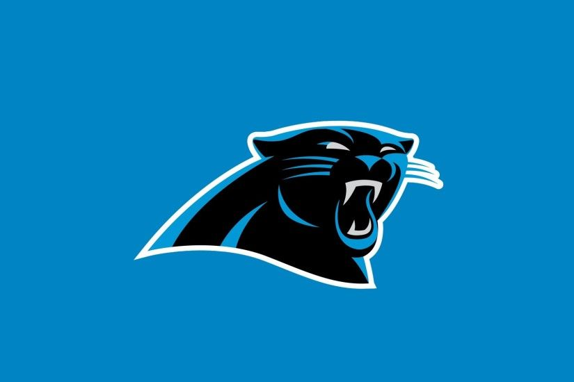 Preview wallpaper carolina panthers, american football, logo 1920x1080