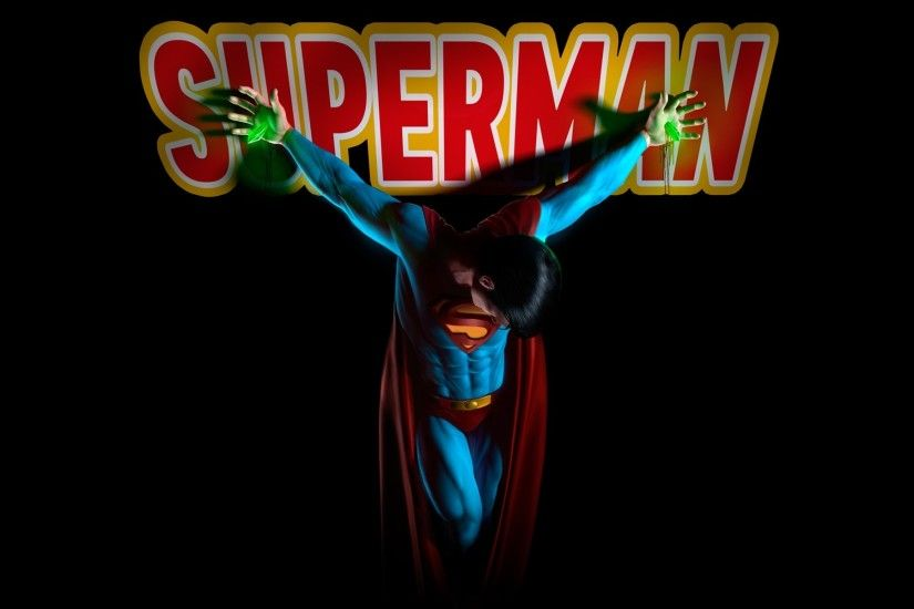 DC Comics Superman superheroes black background crucified wallpaper