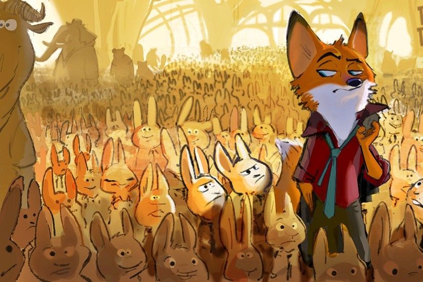 ZOOTOPIA disney animation comedy family action adventure fox foxes 1zoot  wallpaper