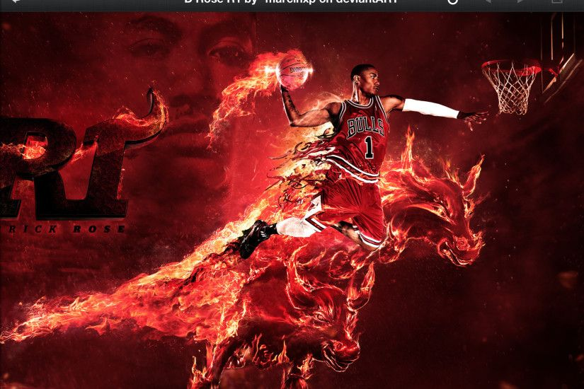 ... Wallpaper Cave chicago_bulls_derrick_rose_by_devildog360-d512wsy.jpg  (1024×576 ... Chicago Bulls ...