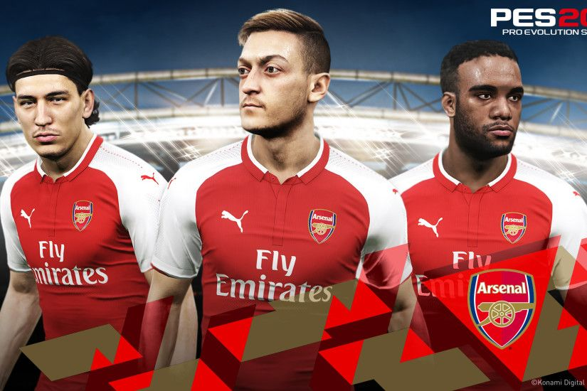 Konami confirms Partnership with Arsenal!