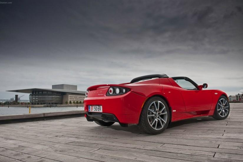 Tesla Roadster 2012 Widescreen Exotic Car Wallpaper #03 of 32 : Diesel .