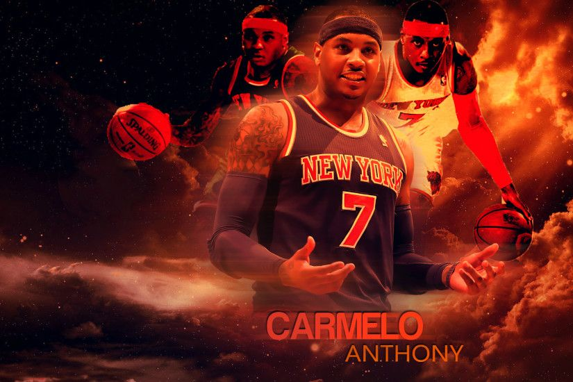 Carmelo Anthony 2014 Wallpaper by RakaGFX Carmelo Anthony 2014 Wallpaper by  RakaGFX