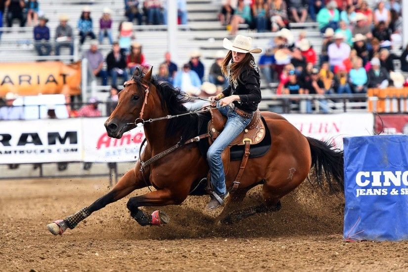 Barrel Racing Wallpaper Full HD.