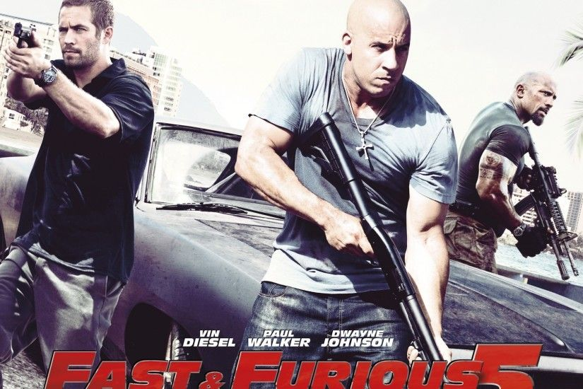 movies, Fast And Furious, Dwayne Johnson, Paul Walker, Vin Diesel Wallpapers  HD / Desktop and Mobile Backgrounds