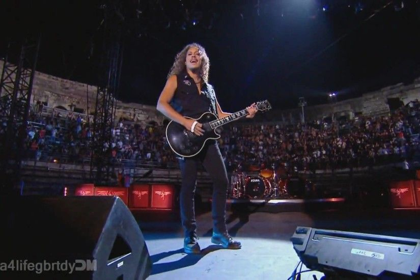 Metallica - Kirk Solo + Nothing Else Matters (Nimes, France) 1080p HD -  YouTube