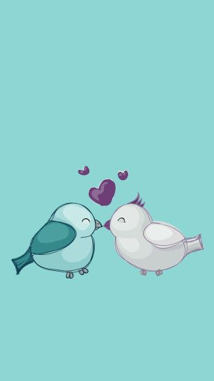 Download Love Birds 1080 x 1920 Wallpapers - 4507543 - love birds iphone5  iphone6 | mobile9