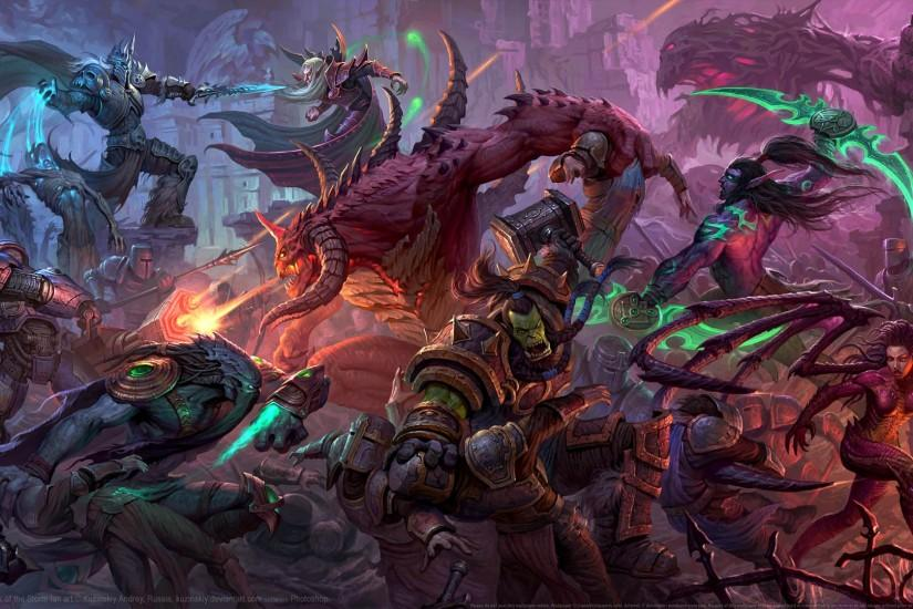 full size heroes of the storm wallpaper 1920x1080 windows