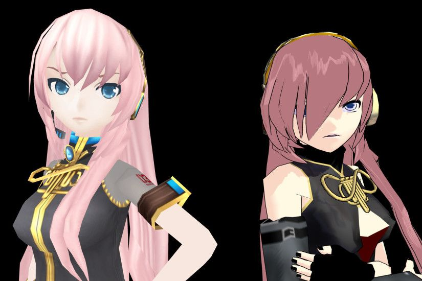 ... Luka Megurine and Okurine Luka wallpaper by Reon046