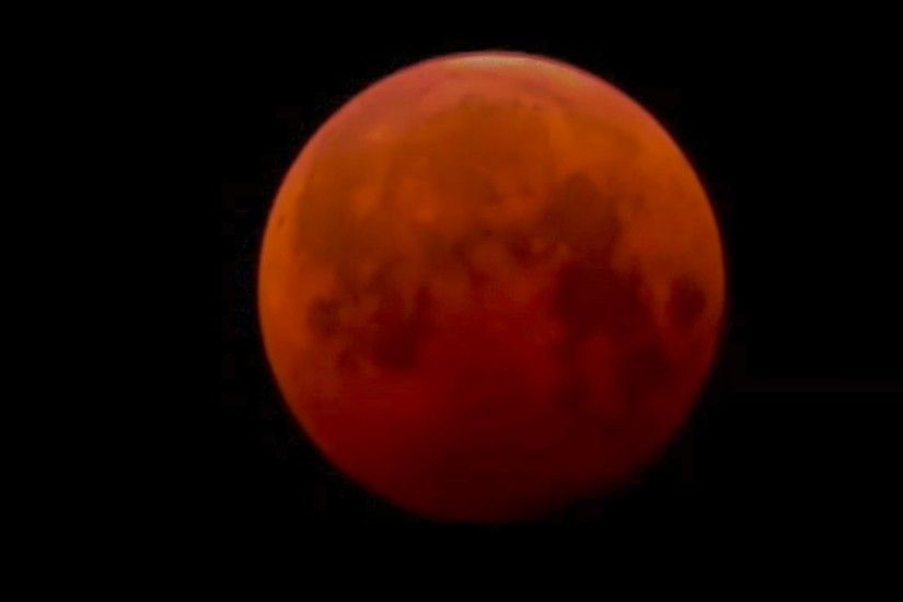 BLOOD MOON -Total LUNAR ECLIPSE April 4 2015 Time lapse video - YouTube