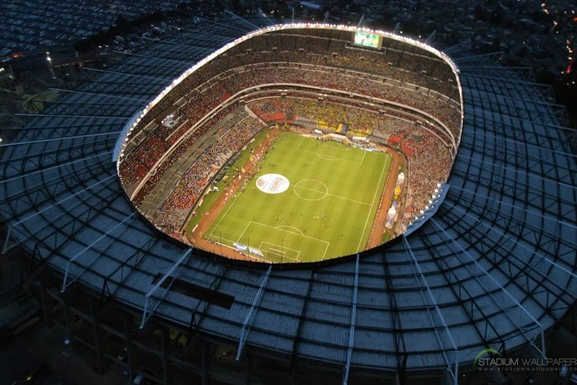 Estadio Azteca Mexico HD Widescreen Wallpaper