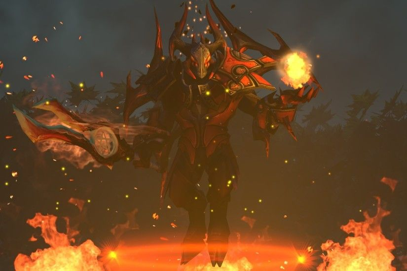 doom lucifer dota 2 set game hd wallpaper