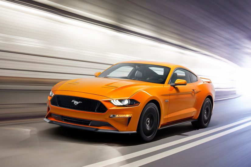 2018 Ford Mustang Sports Car 4K 8K