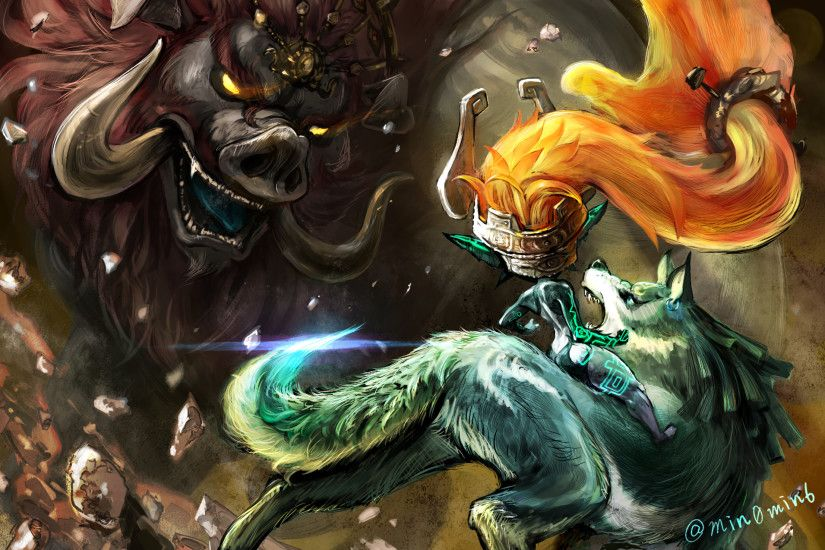 Wolf Link · Video Game - The Legend Of Zelda: Twilight Princess Ganon (The  Legend Of Zelda