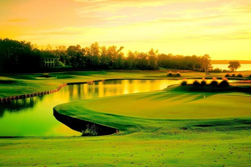 Golf course - (#156278) - High Quality and Resolution Wallpapers on .