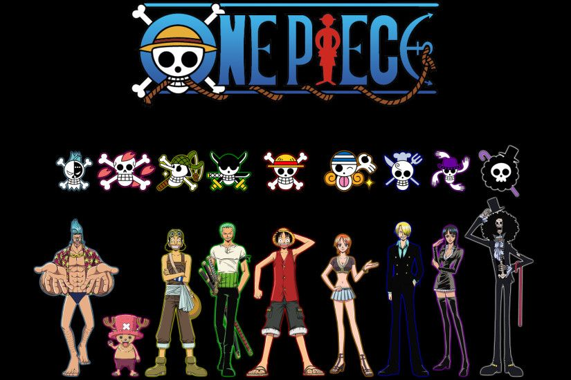 Anime - One Piece Monkey D. Luffy Nami (One Piece) Zoro Roronoa Sanji