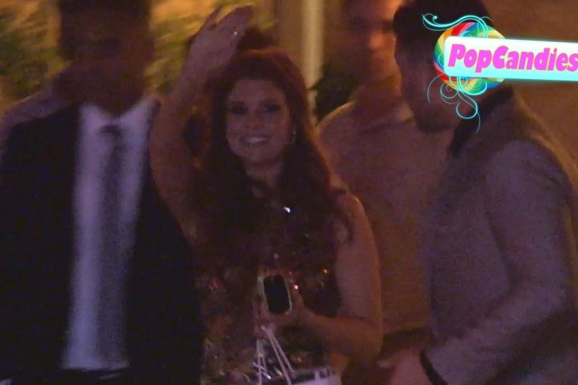 JoAnna Garcia Swisher & Nick Swisher depart ELLE Women In Television  Celebration at Sunset Tower - YouTube