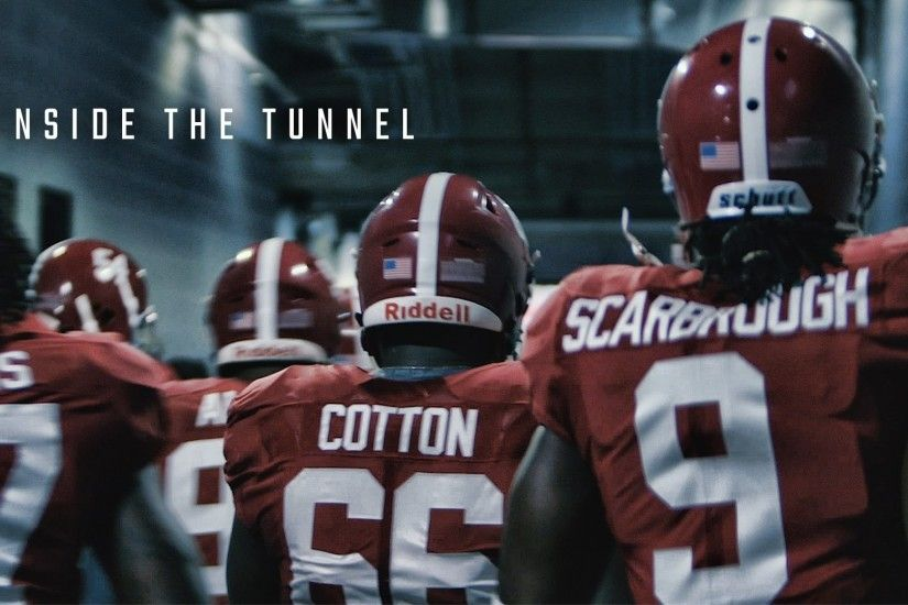 Alabama's intense march to the field, raw and uncut