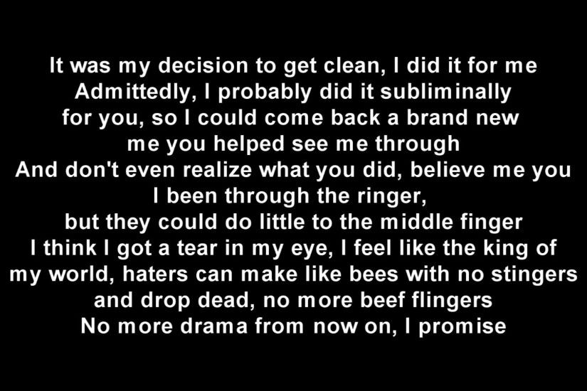 Not Afraid-Eminem(lyrics)