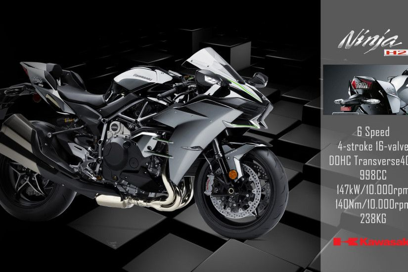 ... kawasaki ninja h2 2017 wallpaper by footballlockscreen on deviantart ...