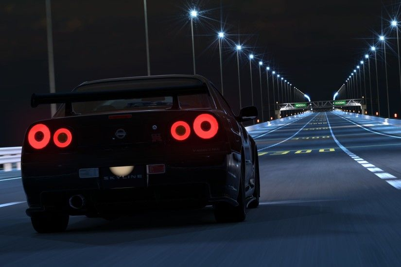 Need For Speed 2015: Corridas com ele NISSAN SKYLINE GT-R R34