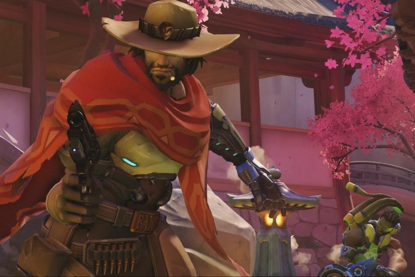 free download mccree wallpaper 1920x1080