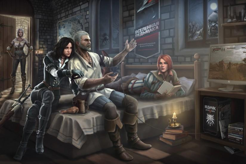 the witcher 3 wallpaper 2560x1440 download free