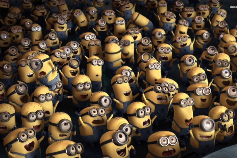 most popular minions wallpaper 1920x1200 tablet