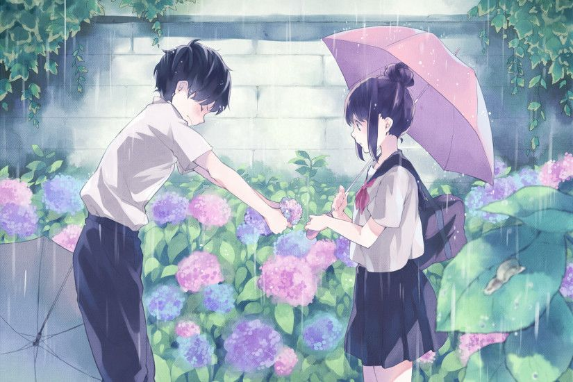 hd cute anime couple background hd desktop wallpapers cool smart phone  background photos download free images high quality dual monitors colourful  1920×1280 ...