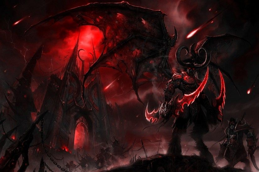 General 1920x1200 World of Warcraft World of Warcraft: The Burning Crusade Illidan  Stormrage video games