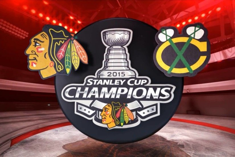 NHL Chicago Blackhawks Stanley Cup Champions 2015 wallpaper HD .