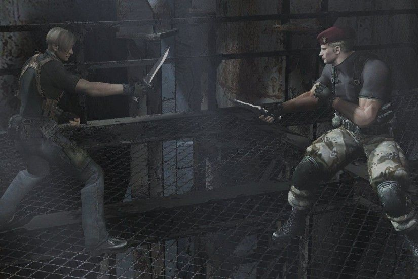 <i>RE4</i> was outstanding of visuals, sound and set-piece variety – but  more than that, it was a fantastic example of video game writing.