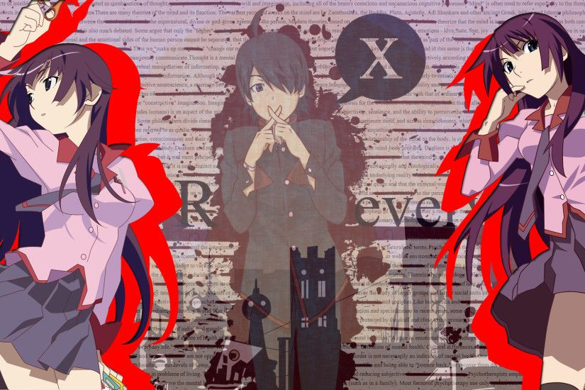 Bakemonogatari Wallpaper by BLAQQY Bakemonogatari Wallpaper by BLAQQY