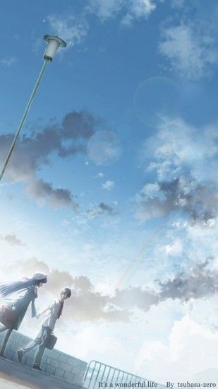 Romantic Anime iPhoneWallpaper ID 26161