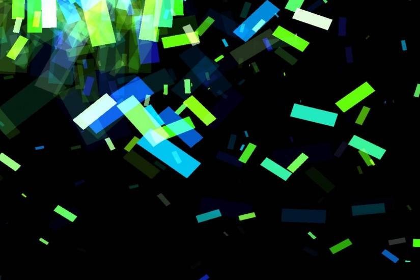 Vj clip Background ANIMATION FREE FOOTAGE HD Square Multicolor Green Blue  Black