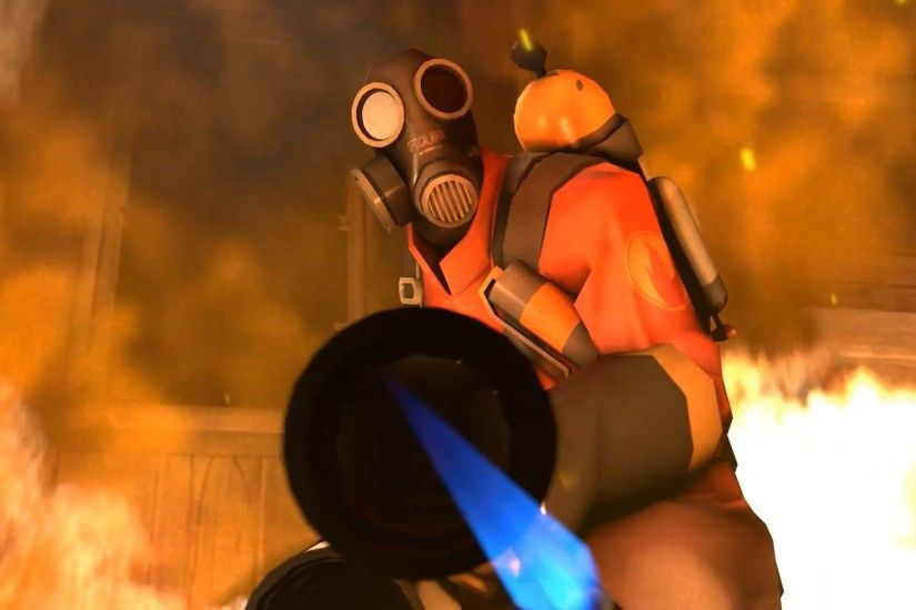 Pyro tf2 team fortress 2 meet the wallpaper