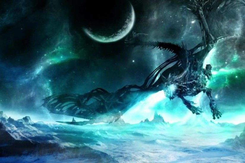 ... Dota 2 : Winter Wyvern Full hd wallpapers
