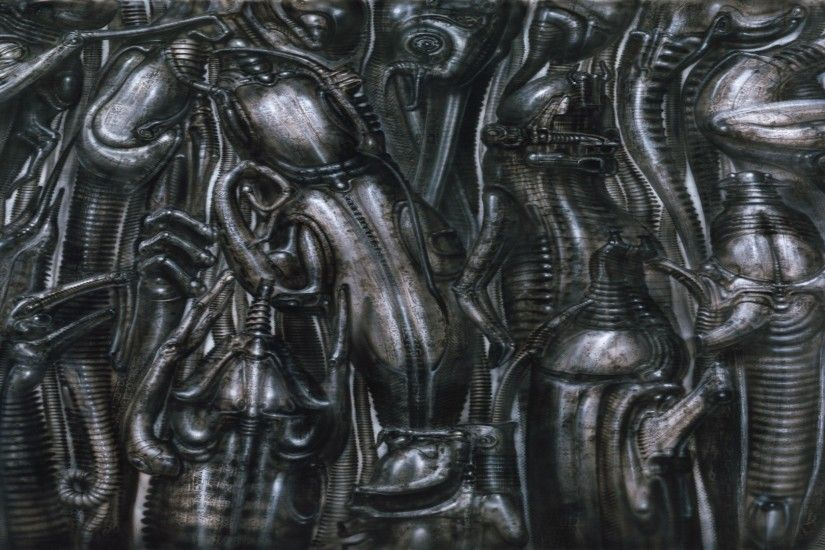 HR Giger Wallpaper 1920x1080