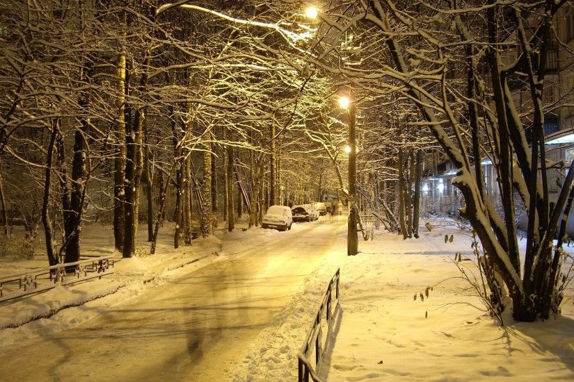 Winter Night Nature Wallpaper - Nature Wallpapers (4389) ilikewalls.