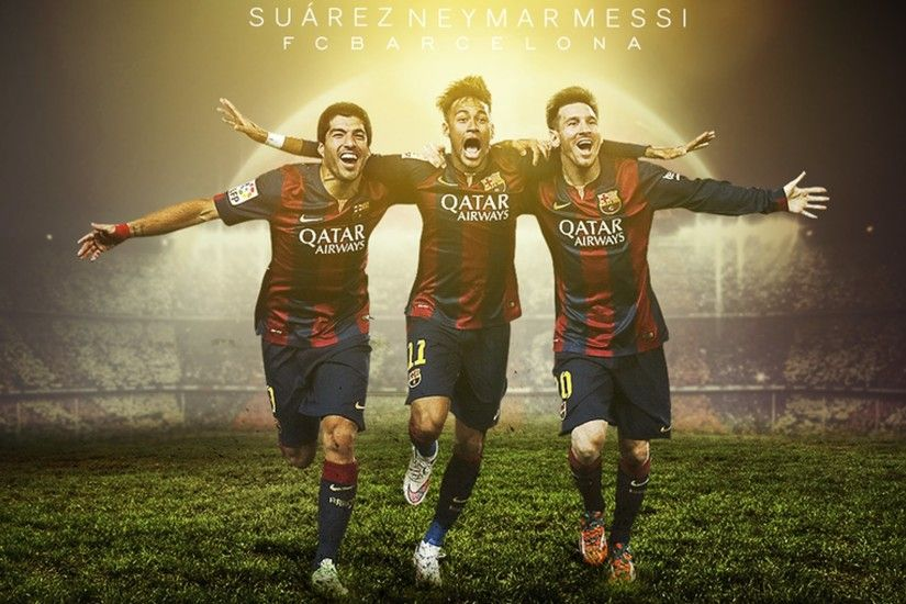 2560x1600 Suarez Neymar Messi Wallpaper