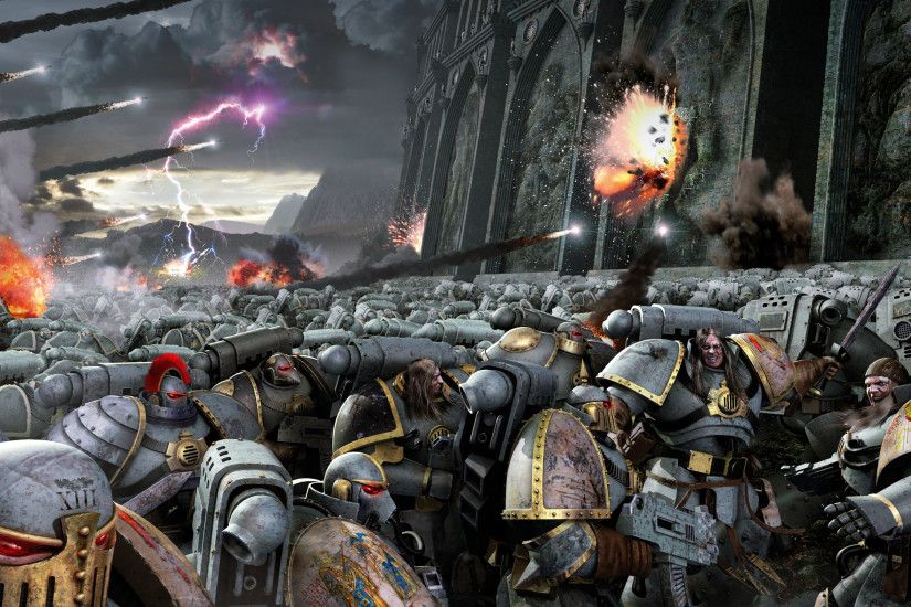 Add media Report RSS Horus Rising wallpaper (view original)