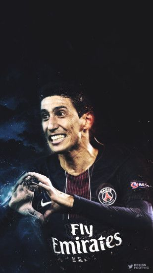 angel di maria di maria psg ucl paris champions league uefa champions  league argentina wallpaper phone
