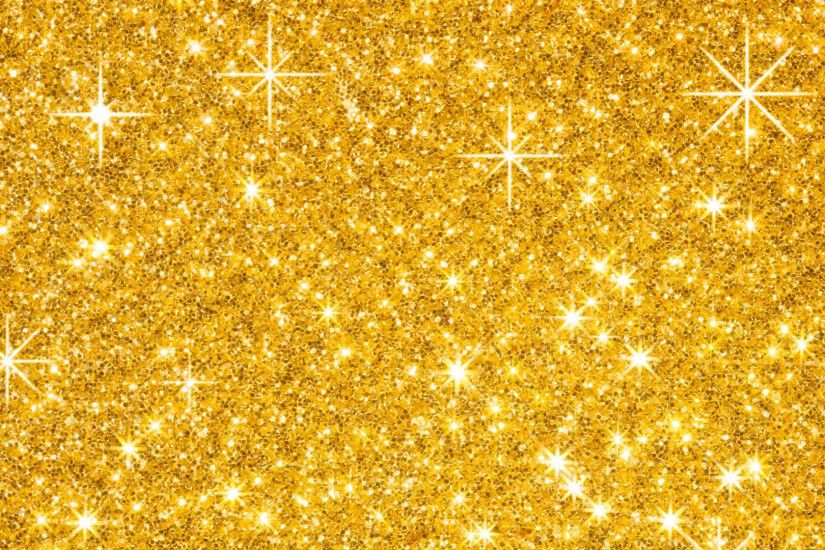 Abstract - Glitter Abstract Gold Wallpaper