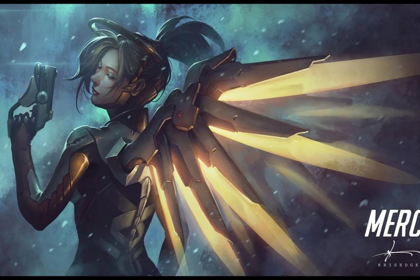 amazing mercy overwatch wallpaper 1920x1080 for hd 1080p