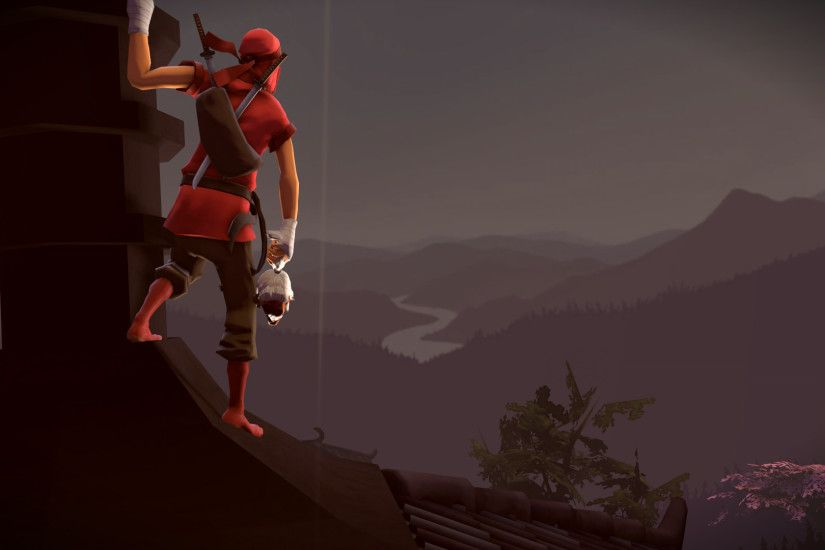 Video Game - Team Fortress 2 Ninja Scout (Team Fortress) Wallpaper